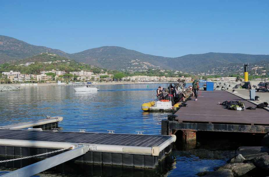 Scuba diving in Cavalaire France