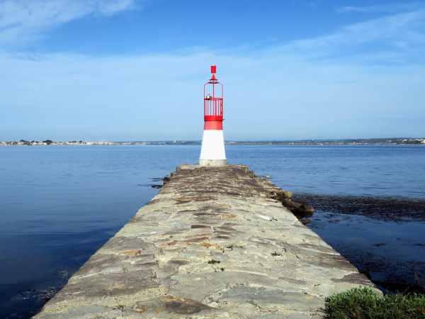 Lighthouse Thau Lagoon France
