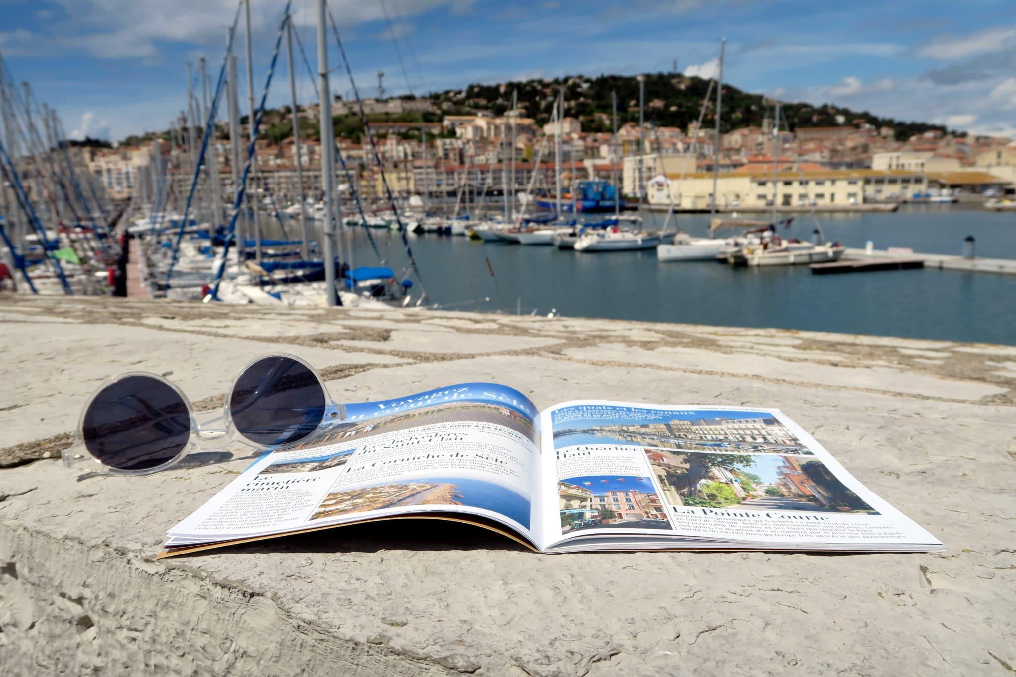 Sète harbour France