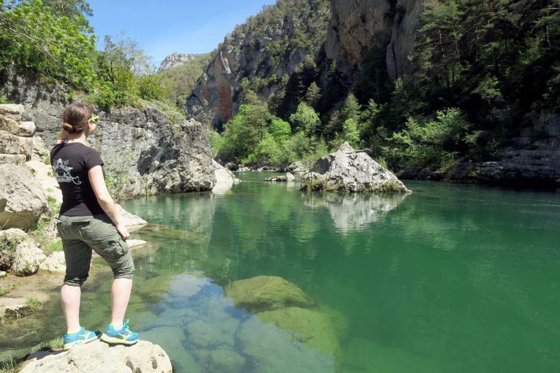 Florine river diving at Gorges du Tarn France - Plongée dans les Gorges du Tarn