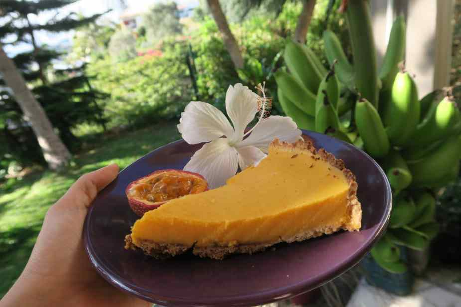 passion fruit tart Noumea New Caledonia