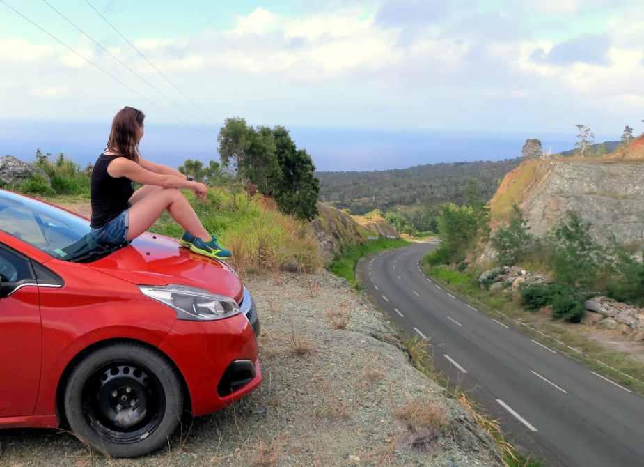 Col d'Amos road trip New Caledonia