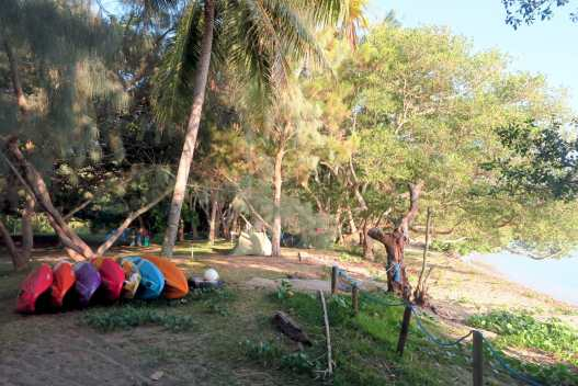 Camping Babou Coté Océan Hienghene New Caledonia