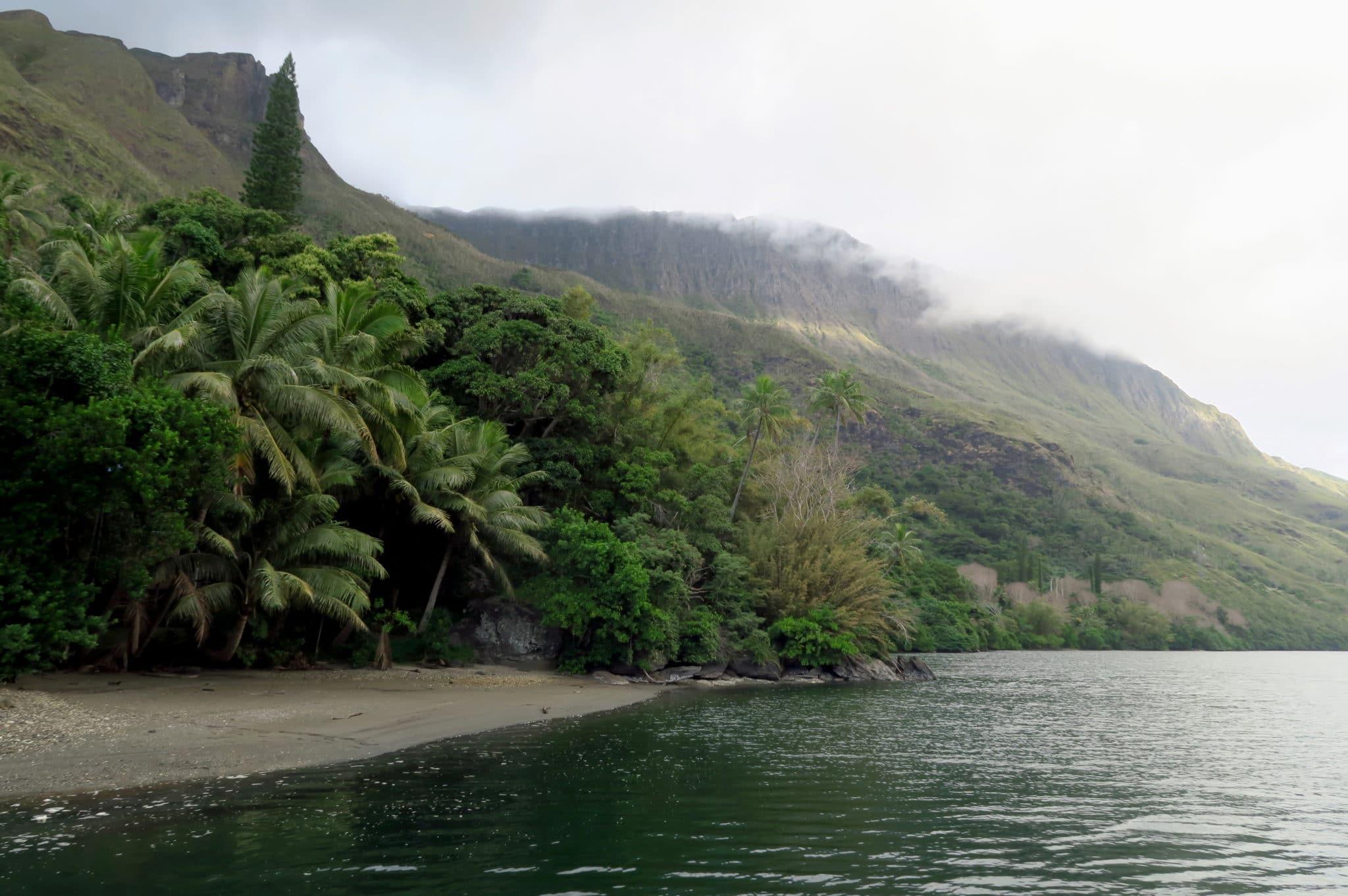 Ferryboat Ouaieme River New Caledonia