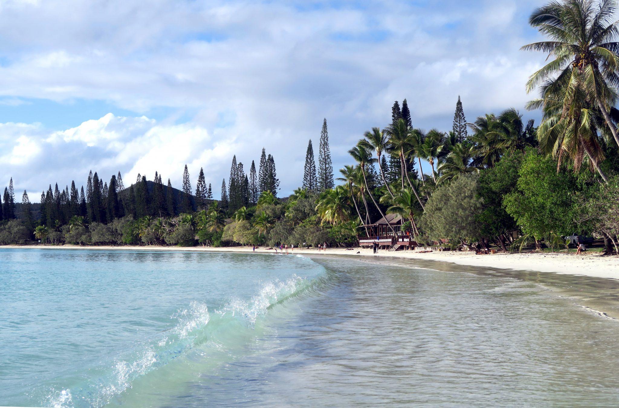 Kuto beach Isle of Pines New Caledonia