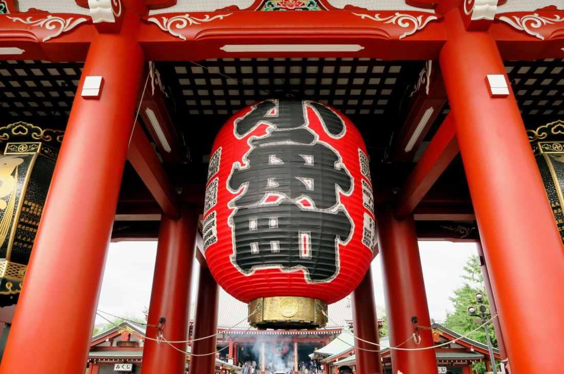 Stopover in Tokyo Sensoji shrine Asakusa Japan