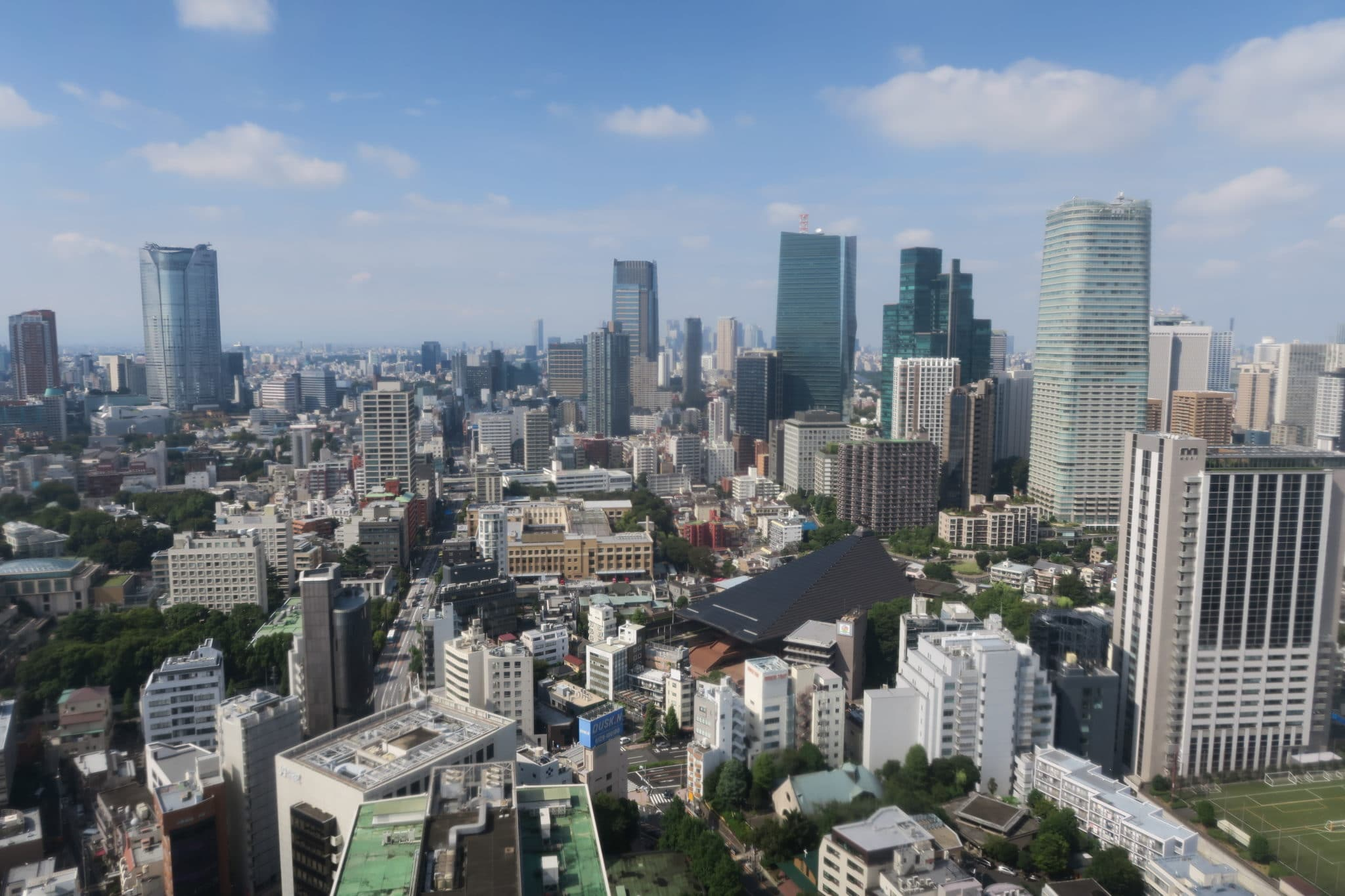 View from Tokyo Tower Japan