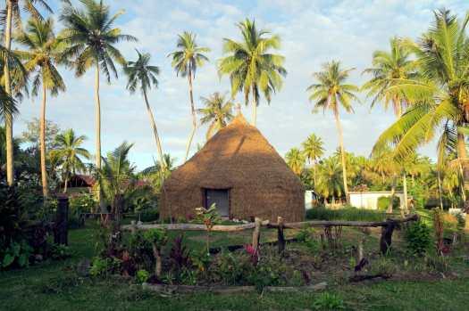 Traditional hut Lifou New Caledonia