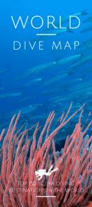 World Dive Map Top 150 scuba diving destinations