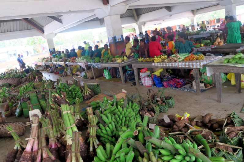 Farmers market Luganville Santo Vanuatu