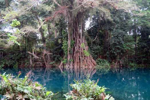 Matavulu Blue Hole Santo Vanuatu