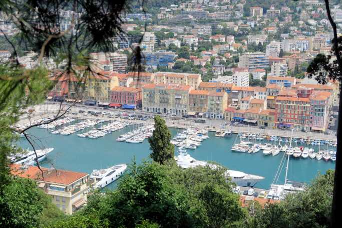 View from Castle Hill - Visit Nice French Riviera