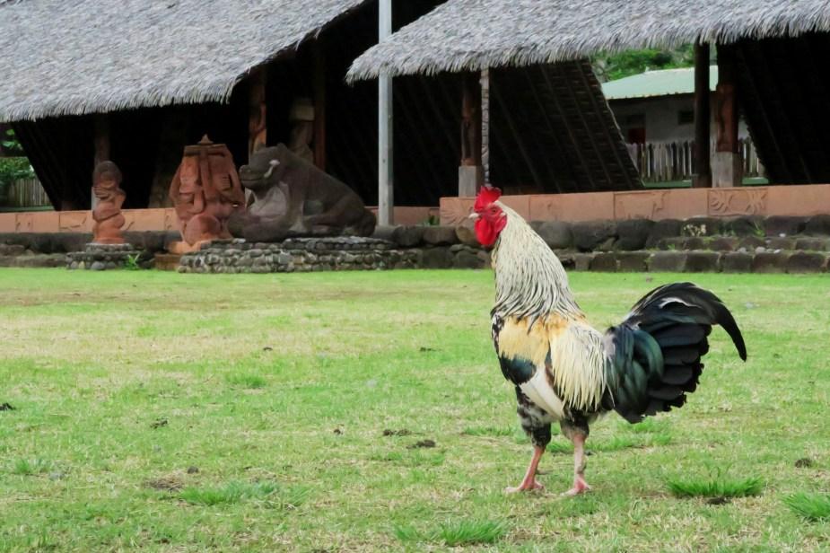Atuona Village - Hiva Oa - Marquesas Islands - French Polynesia