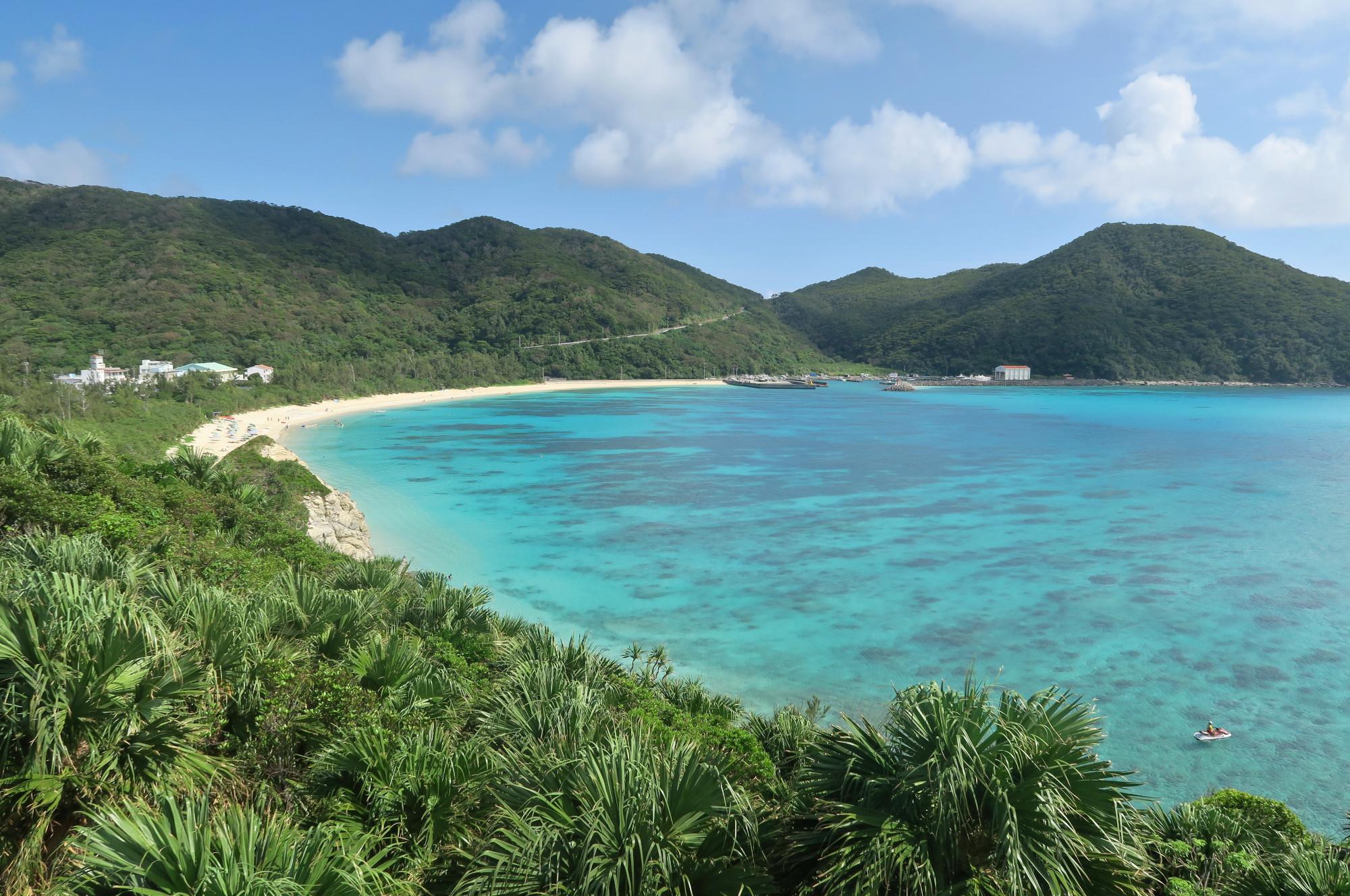 Aharen Beach Tokashiki Okinawa Japan