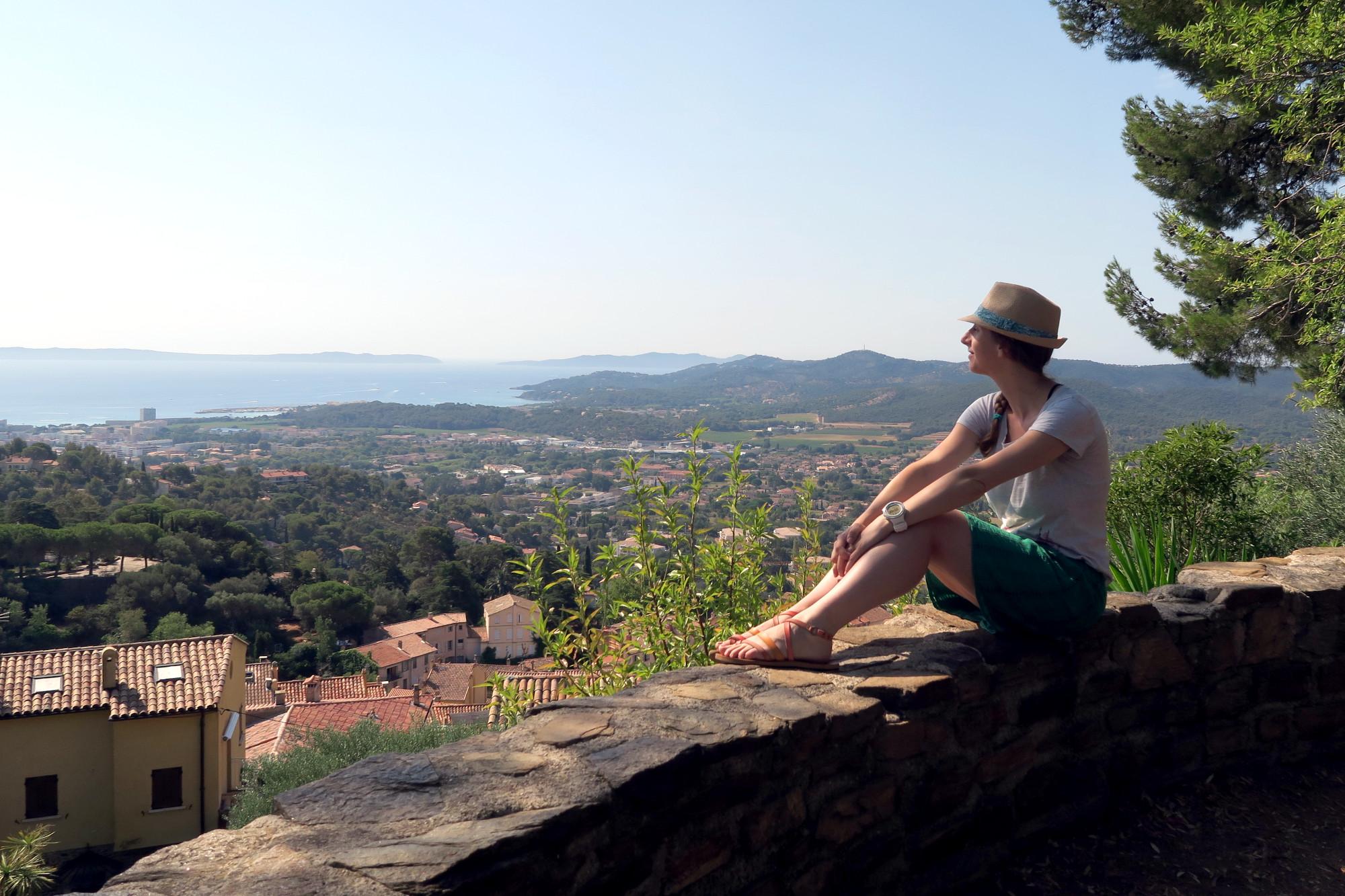 Bormes les Mimosas village French Riviera