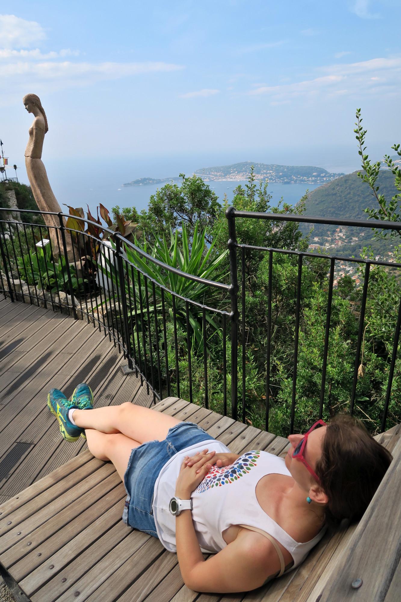 Eze exotic garden French Riviera
