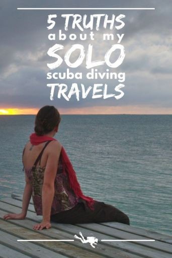 solo scuba diving travels