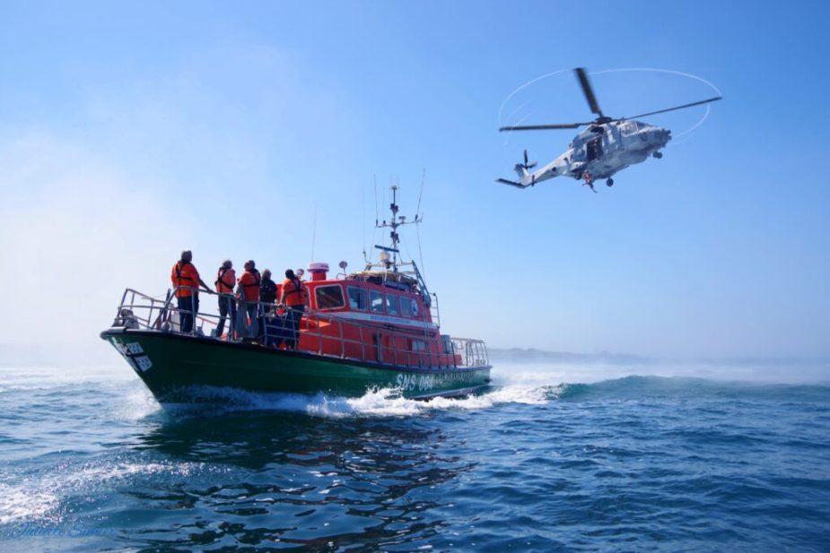 SNSM ocean lifeguards in France