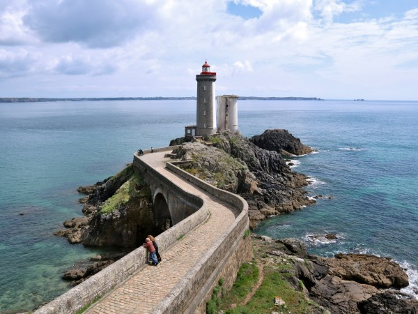 Lighthouse Phare du Petit Minou Bretagne Brittany France