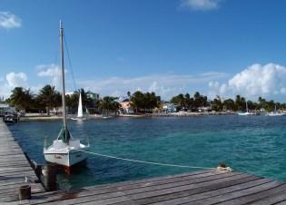 Arrival Caye Caulker Belize