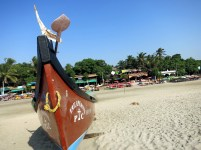 boat arambol beach goa