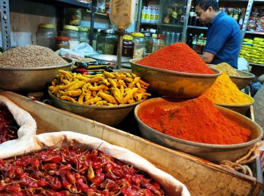spices Panaji market goa