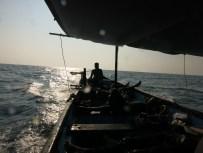 going back boat netani murudeshwar india