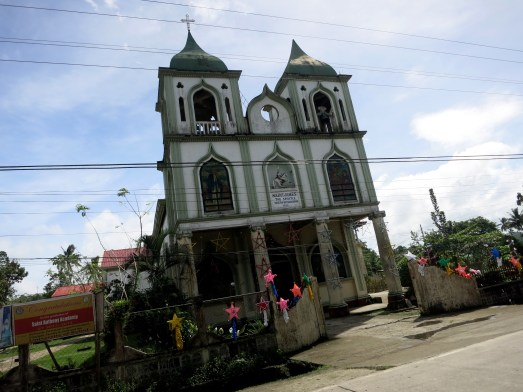 Bohol countryside Church Philippines