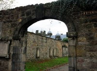 Greyfriars' graveyard Edinburgh Scotland