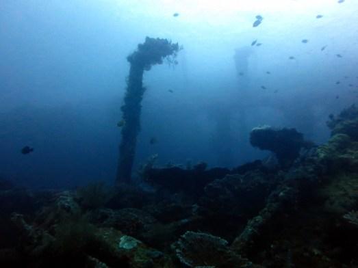 scuba diving Liberty Wreck Tulamben Bali Indonesia