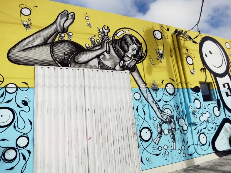 Street Art - Wynwood Art District Miami Florida