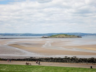 Cramond Promenade Edinburgh Scotland