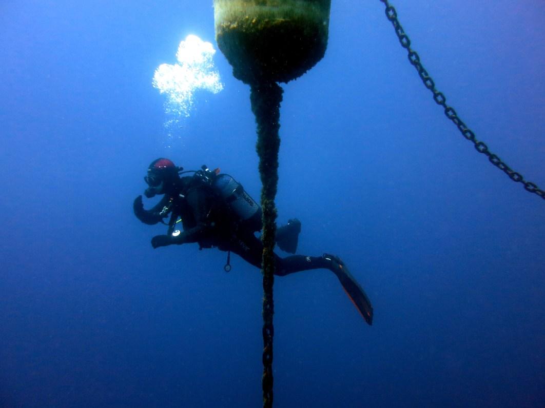 Scuba diving Portofino Italy