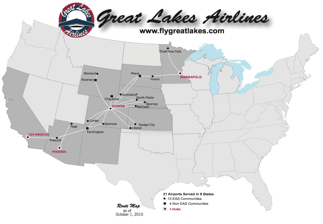 Great Lakes Airlines Continues Operations Despite