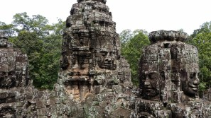 Unique in all the world for its many faces, Bayon is certainly a popular and memorable temple in Angkor