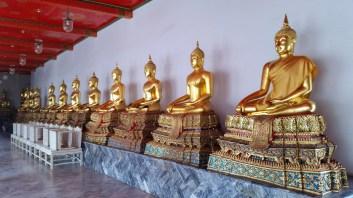 Buddha statues in Wat Pho