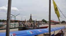 Tha Tien pier, and Wat Arun from across the river
