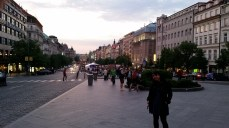 Everything is around here! Wenceslas Square is at the center of New Prague.