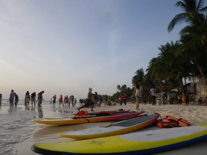 There's a lot to do at White Beach besides swimming... if you've got the money, that is.