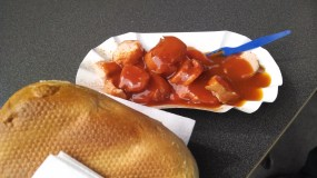 Evidently a must-try. I found currywurst just OK, even though it sounds like it should've been amazing.
