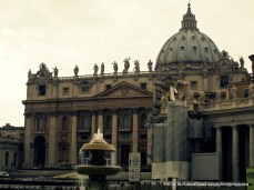 St. Peter's Basilica is one of the most important places in Christian theology, and an architectural masterpiece.