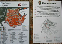 A map of the city at the Pile Gate.