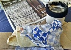 Beer guide, burrito, and 4oz sample. The perfect Beerfest setup.