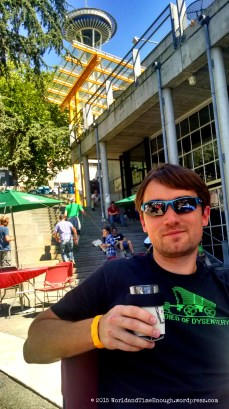Perfect weekend for beer lovers! David was very happy.