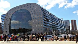 The Markthal from outside. Huge building full of food: nothing could make me happier!