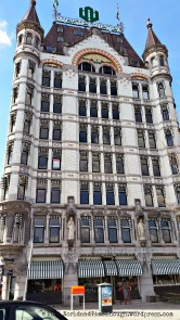 The Witte Huis was the first high-rise building in Europe.