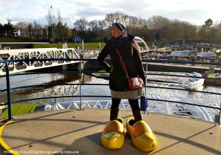 Wooden clogs are typically Dutch, and you can find giant ones at all the attractions in the Netherlands.