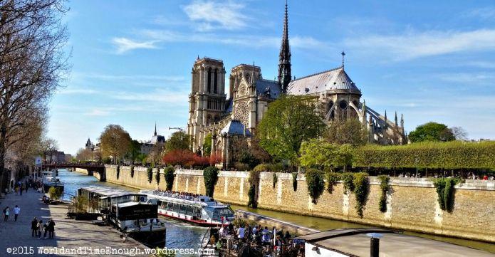 View of Notre Dame from Pont de l'Archeveche