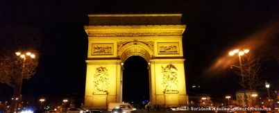 arc from champs-elysees