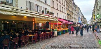 Rue Cler, a famous Parisian open market street